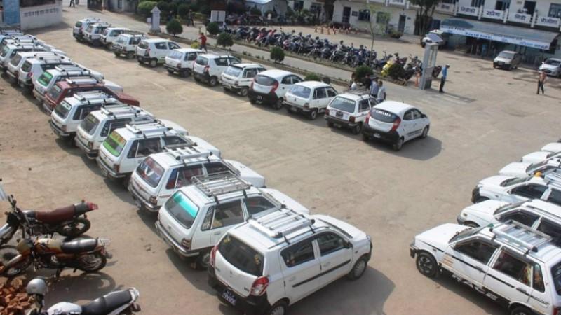 १० महिनामा १० हजार ट्याक्सी कारवाहीमा, निगरानी थप बढाउँछौंः ट्राफिक