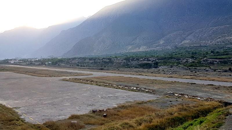 जोमसोम विमानस्थल स्तरोन्नति शुरु