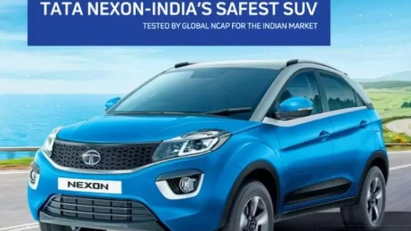 ग्लोवल एनक्यापमा टाटा नेक्सनको कमाल, बन्यो भारतको सुरक्षित कार