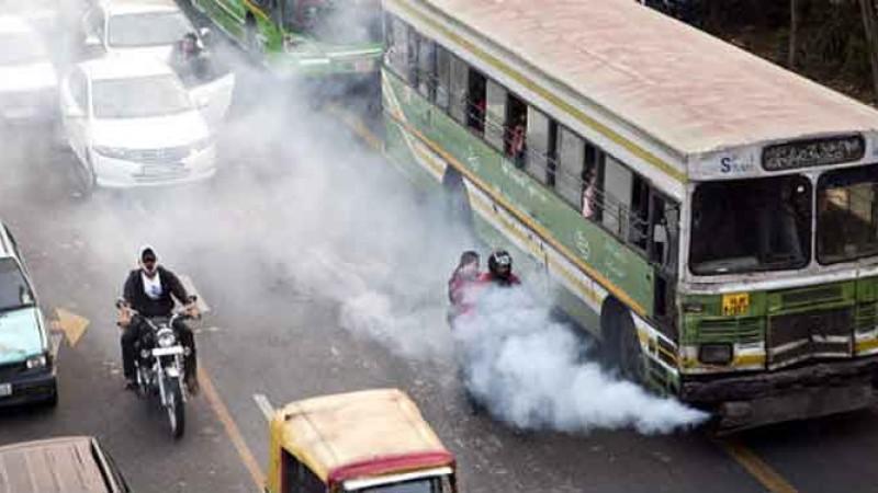 उपत्यकामा उद्योगले भन्दा सवारीसाधनबाट बढी वायु प्रदूषण !