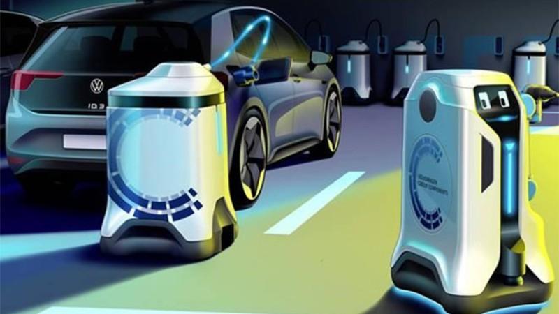अब रोबटले गर्ने छ इलेक्ट्रीक कार चार्जिङ (भिडियोसहित)