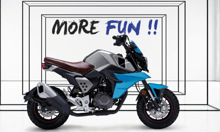 सिंगापुरको मोटरसाइकल ब्राण्ड नेपालमा, मिनी स्काम्लरकाे यस्तो छ मूल्य र विशेषता_img