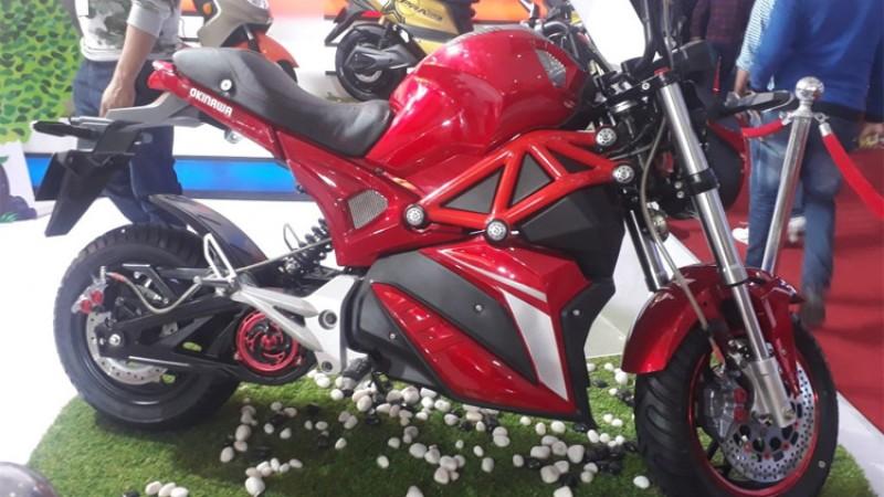 ओकिनवाको इलेक्ट्रीक मोटरसाइकल, कहिले आउला नेपाल_img