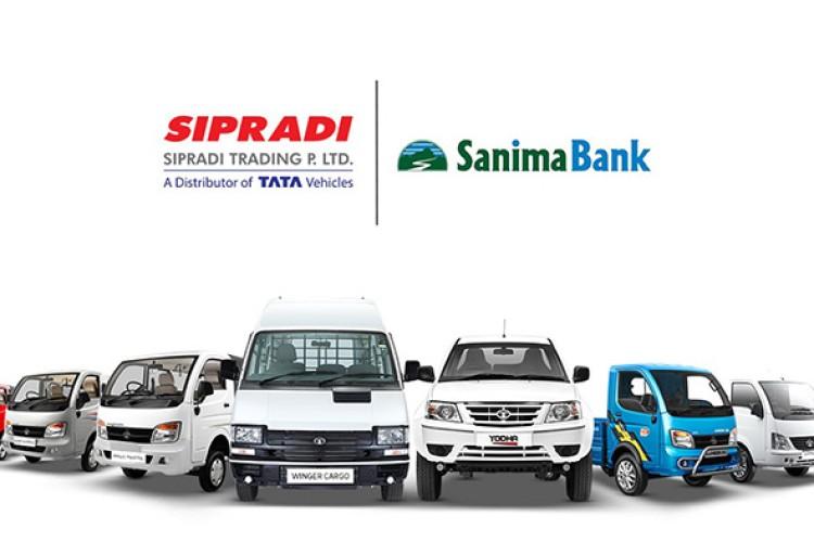 टाटाका कमर्शियल गाडीमा सानिमा बैंकले सहुलियतपूर्ण कर्जा दिने_img