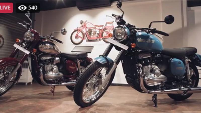 जावा मोटरसाइकल नेपालमा सार्वजनिक, मूल्य ६ लाख २० हजार