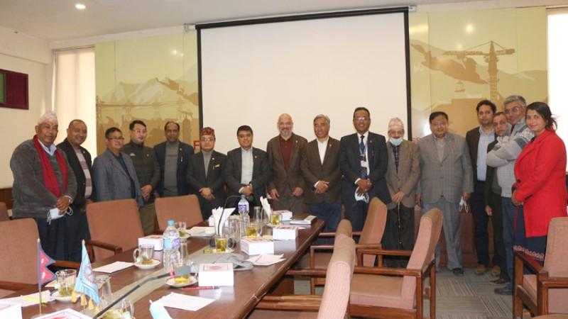 नेपाल उद्योग वाणिज्य महासंघले विस्तार गर्यो यातायात तथा पारवहन समिति