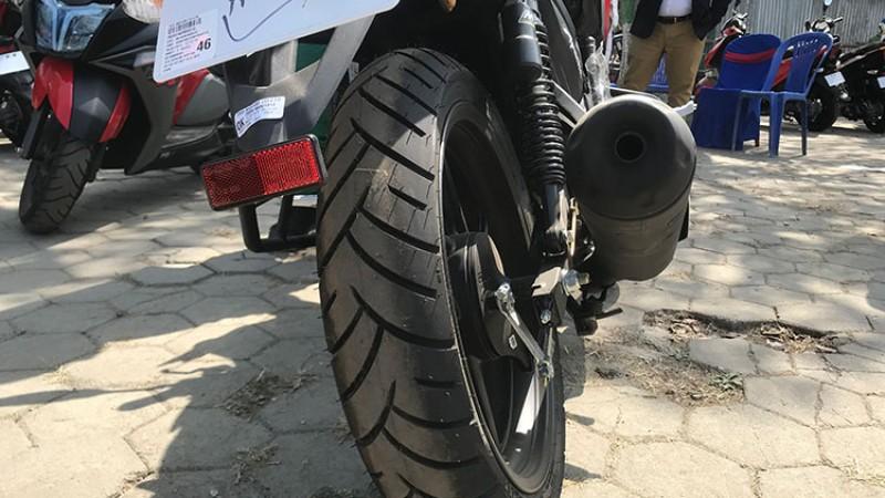 मोटो टायर र कस्मेटिक परिमार्जन सहित आयो टीभीएस 'आरटीआर १६० टु भी'_img