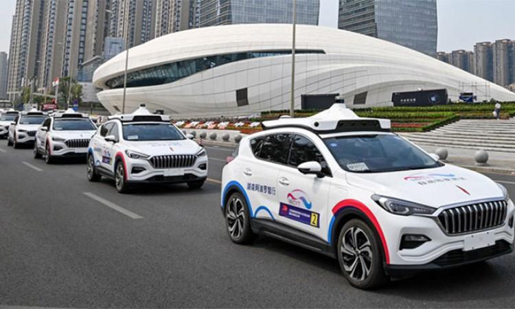 बाइडुले चीनमा सुरु गर्यो चालक रहित ट्याक्सी सेवा_img