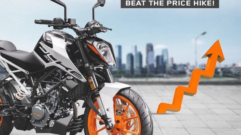 केटीएमले साउन १५ गतेबाट आफ्ना मोटरसाइकलको मूल्य बढाउने